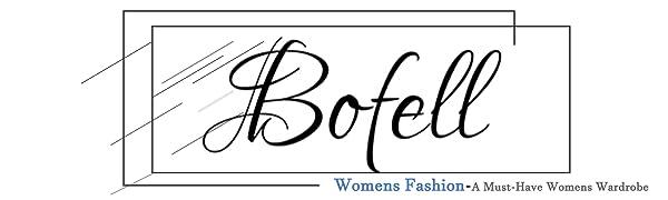 Bofell Womens Tshirts Short Sleeve