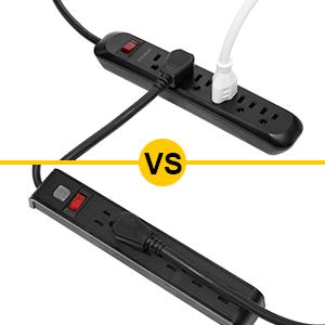 power strip horizontal outlets