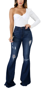 Bell Bottom Jeans For Women