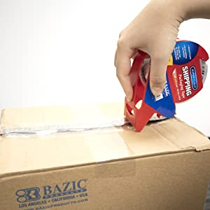 BAZIC Clear Heavy Duty Packing Tape