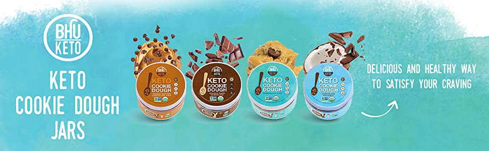 Keto Cookie Dough Jars
