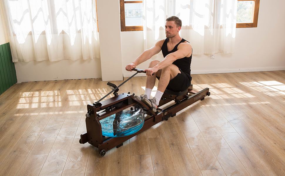 Foldable Water Rowing Machine