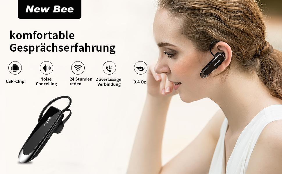 Bluetooth-Headsets für ein Ohr