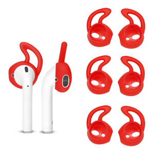 AirPods EarHooks Red
