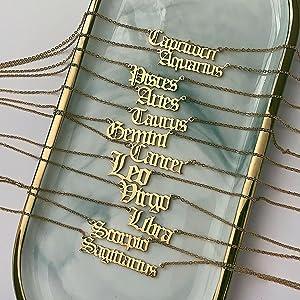 Zodiac Libra Necklace