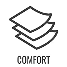 Comfort well above the norm!