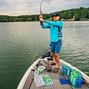 Fishing lure cast