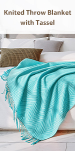 Knit Blankets Throws