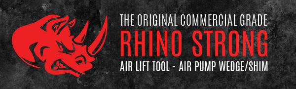rhino strong air shim air wedge air lift tool leveling alignment tool