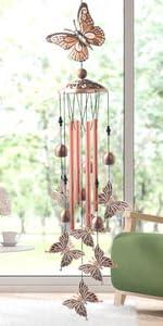 zhenshizuo butterfly wind chimes