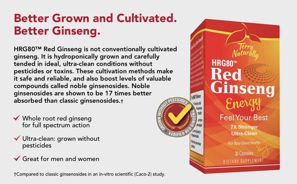 cultivated ginseng, ginsenosides, whole root, full spectrum, clean, great for men and women