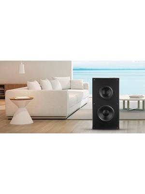 on-wall subwoofer