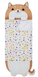 sleeping bag for kids Dog Stuffed animal