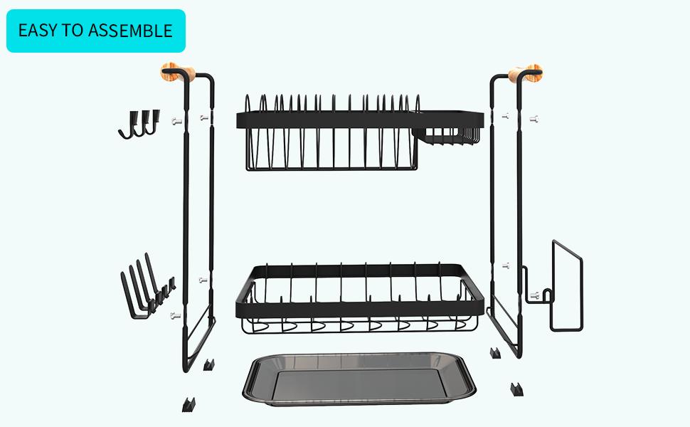 JZBRAIN dish drying rack