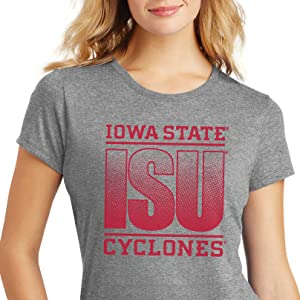 Iowa State Cyclones ISU Fade Women's Tee Shirt