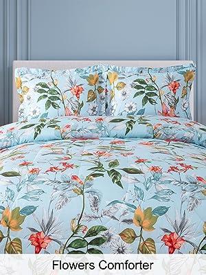 Shatex Floral Comforter Set