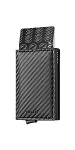carbon fiber card holder