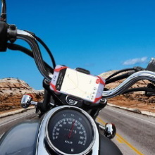 Motorcycle Phone Holder, Phone Mount for Motorcycle