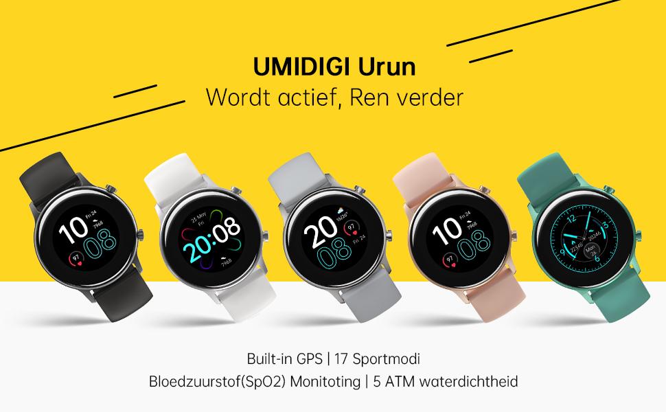 UMIDIGI Urun-Get Active, Run Further