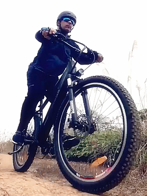 mountain electric bike 500W