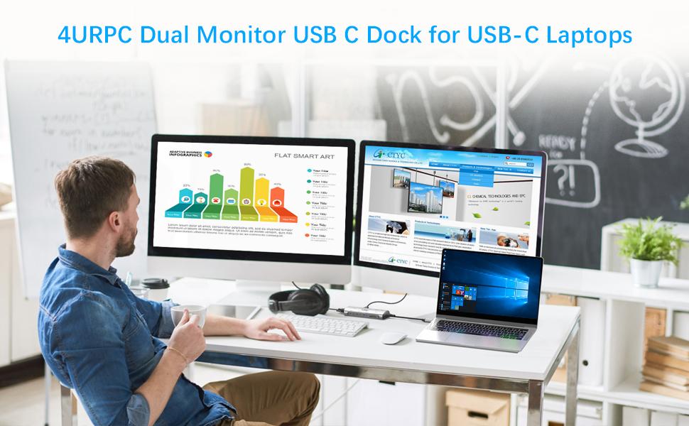 dual monitor dock