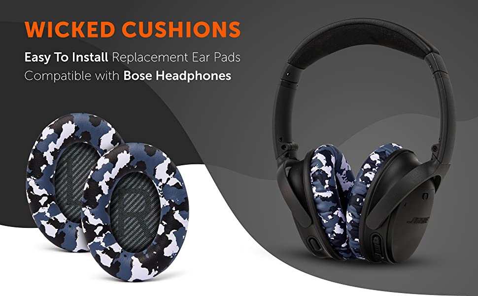 bose qc35 replacement ear pads snow camo