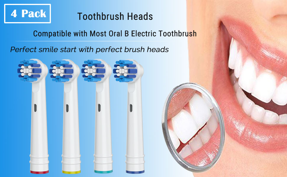 Oral B replacement toothbrush heads