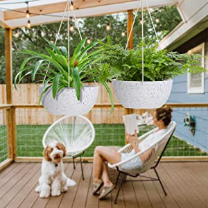 hanging planters for outdoor plants