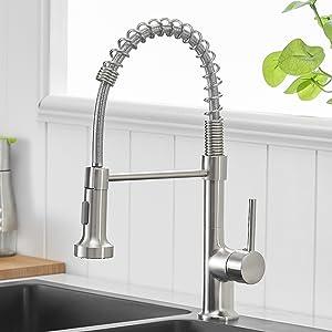 Commercia kitchen faucet