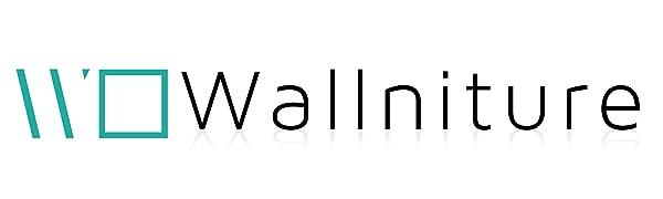 metal shelves wall shelves for bedrooms bookshelves and bookcases Wallniture company logo