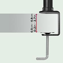 Duronic DM35L1X1 Soporte para Pantalla de 13