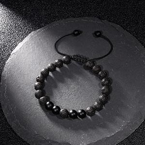 tiger eye lava rock mens bracelet beads gifts for men boyfriend husband father son boys teens him