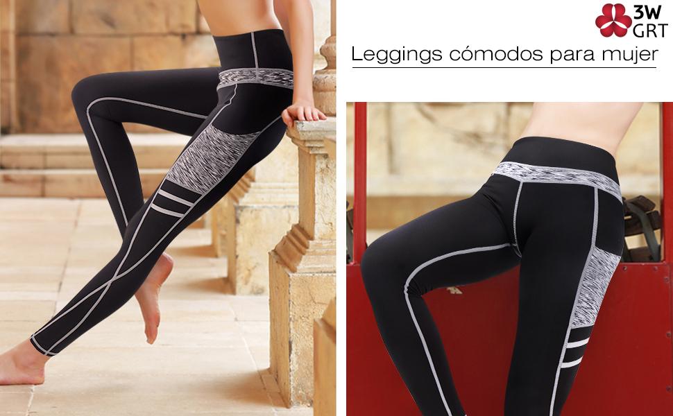 Leggings y medias deportivas para mujer