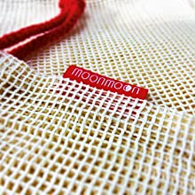 washable reusable cotton mesh bag best