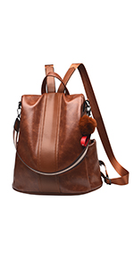women backpack leather