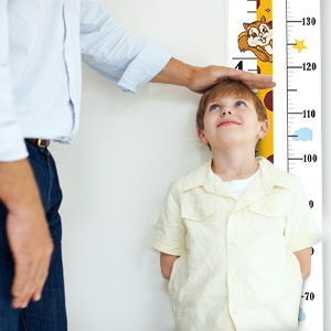 wall height chart for kids