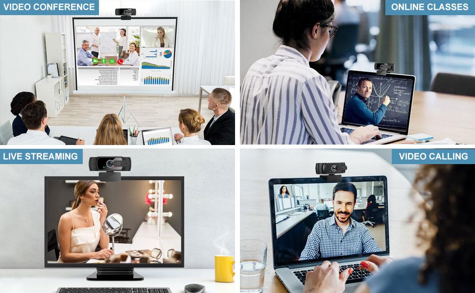 webcam application scene