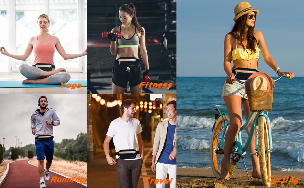 Yoga, Fitness, Running, Travel, Cycling