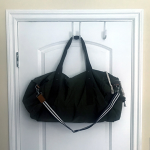large bag on over the door hook