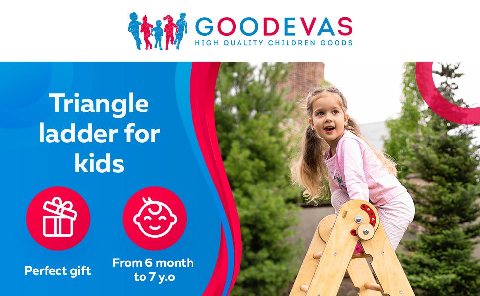 montessori pikler kids playground ladder