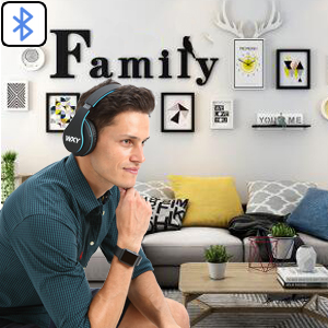 WXY Over Ear Bluetooth Headphones-EBC-10
