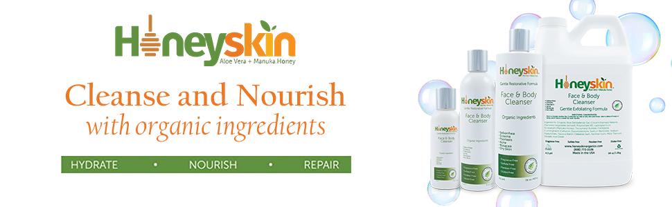 Honeyskin Face and Body Wash