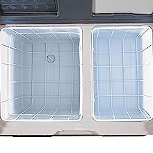 Portable Fridge - Dual Zone Compartments - Keto Diet Motivation