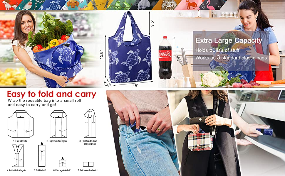 foldable bag for shopping