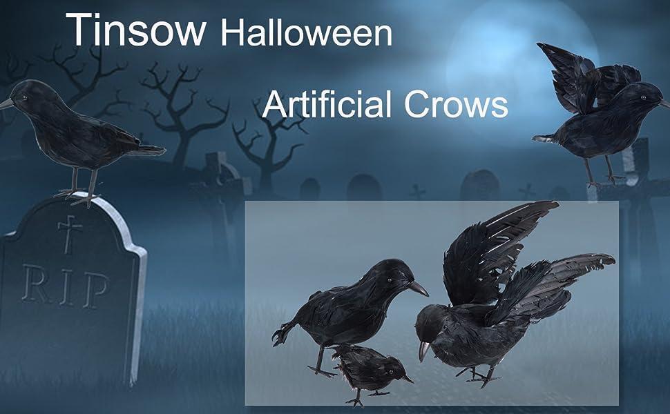 fake crows