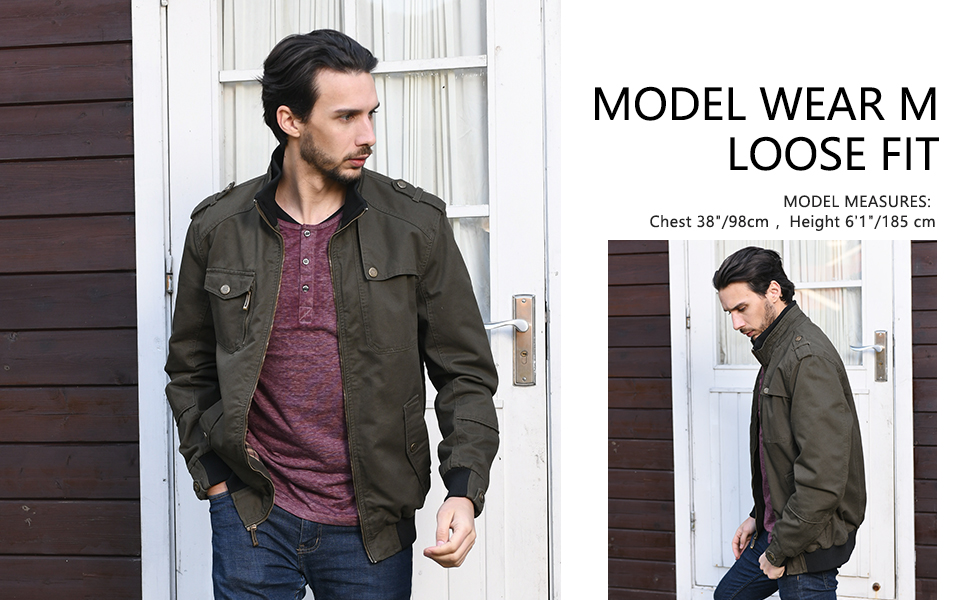 Men's Military Style Jacket