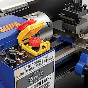 benchtop mini metal lathe wood plastic cut cutting drilling machine home workshop part tool
