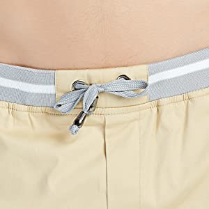 mens cargo shorts elasticated waist