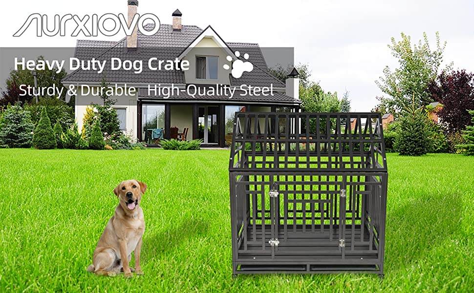 Heavy dog cage