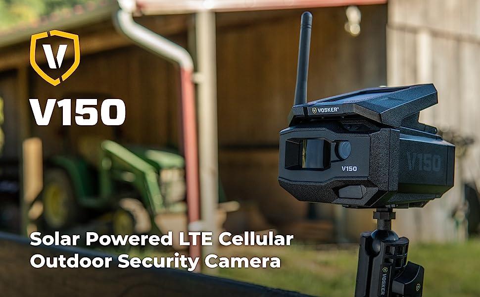 Vosker Surveillance Camera